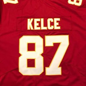 save off d271c d6171 NWT Travis Kelce #87 Jersey Kansas City Chiefs NWT